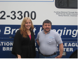 Delia DeRiggi-Whitton sponsored the 'Mamo Van' through NUMC.