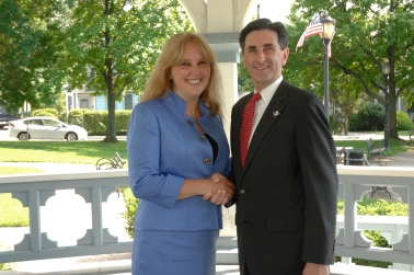 Delia is grateful for the support of Wayne Wink, who is running for Town Clerk in North Hempstead.